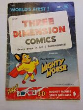 Three Dimension Comics #1 x