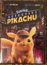 Pokemon: Detective Pikachu (DVD 2019) Ryan Reynolds FREE Shipping New & Sealed!