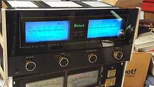 McIntosh MC7270 Power Amplifier LED & Filter Upgrade Kit Faceplate & Meter Bulbs