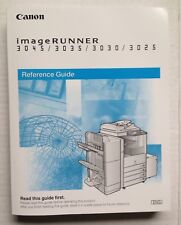 2006 CANON IMAGERUNNER 3045 3035 3030 3025 COPIER MACHINE OPERATOR OWNERS MANUAL