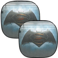 Dc Comic Batman & Superman Sunshade Windshield Universal Car Truck Sun Shade