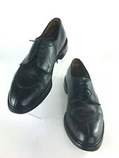Allen Edmonds 11 1/2 D Walton Mens Black Split Toe Oxfords Dress Shoes 2103