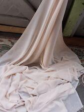 10METERS nude  DRESS CHIFFON FABRIC 45WIDE