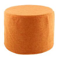 Fodera per sgabello tondo in cotone squisita per poggiapiedi da 28cm /