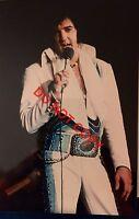 ELVIS CANDID ORIGINAL 3x5 PHOTO BY HEIS DAYTON OHIO 10/6/74 025