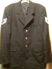 Air Force Military Service Coat Mens Uniform Blue Army Jacket 40S De Rossi Son