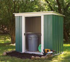 Gartenhäuser & Geräteschuppen aus Metall mit Flachdach Steck/Schraub