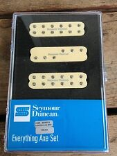 Seymour Duncan Everything Axe Pickup Set For Strat Creme Single Coil Size Hum