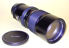 Vivitar 75-260mm lens f. Olympus OM extremely good cond
