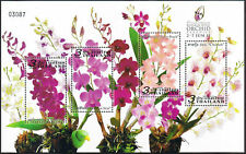 Thailand Stamp Royal Orchid Paradise 2011 S/S Ovpt Royal Orchid Exhibition Logo