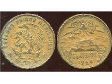 MEXIQUE  20 centavos 1964