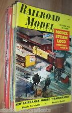 RAILROAD MODEL Lotto di 20 riviste in inglese TRENI LOCOMOTIVE MODELLISMO