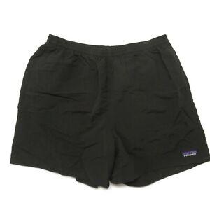 """Patagonia Baggies Shorts 5"""" Mens Medium Black 57021"""