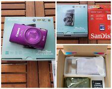 Canon PowerShot ELPH 340HS (IXUS 265 HS) 16.0MP 3''SCREEN DIGITAL CAMERA PURPLE