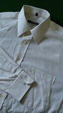 Eterna Shirt Off White Single Cuff 16'' Collar Chest 46'' Size XL