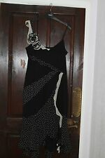 Karen Millen Dress for Christmas party Wedding Vintage Dots size 14 L