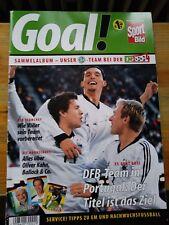 Top Duplo Hanuta Fussball EM 04 Sammelalbum Euro 2004 Komplett DFB
