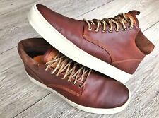 Timberland Earthkeepers Mens Brown Leather Chukka Boots Size 10