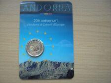 2 EURO Andorra in Plastik-Card 2014 BU offizielle Ausgabe