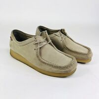 Clarks Wallabees Padmora Womens Size 10 M Beige Tan Casual Shoes Suede 60498