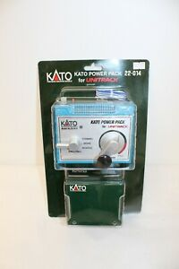 Kato 22-014 Power Pack For Unitrack EX - Blue - with Power Supply Never Opened