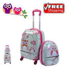Kids Suitcase For Girls Purdue Owl Pictures of Owls Rolling Backpack City Travel