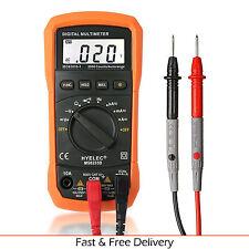 Digital Multimeter Crenova AC/DC Tester Portable Voltage Detector LCD Display