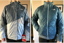 NEW The North Face Quilted Penny 3 in 1 TRICLIMATE Jacket size M $240 BLUE