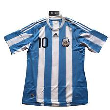 2010 Argentina Away Jersey #10 Messi XL World Cup Football Soccer adidas