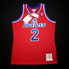 e9a448c2a 100% Authentic Chris Webber Mitchell Ness Bullets Jersey Size 40 M Medium