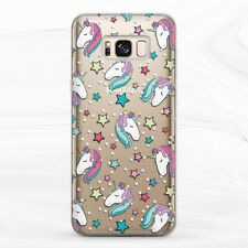 Case For Samsung S8 S9 S10 S20 Note 9 10 20 Unicorn Kawaii Cute Animal Star Girl