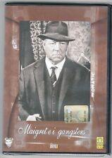 dvd MAIGRET E I GANGSTERS Jean GABIN Francoise FABIAN Vittorio SANIPOLI (1963)