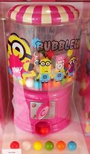 USJ Limited Official Minions Bubble Gum Ball Pink Vending Machine Rare Authentic