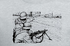 German MG42 Machinegun Team in Winter Camo T-Shirt  WWII WW2 Waffen K98 ASL