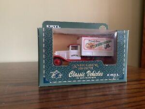 ERTL Classic Vehicles Anheuser-Busch Budweiser Truck Die Cast Metal Car