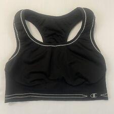 Champion Black Athletic Sports Bra Youth Size Reversible