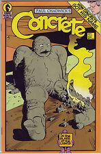 Concrete #4 (1987)  Paul Chadwick Dark Horse Comics New Unread