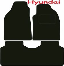 Tailored Deluxe Quality Car Mats Hyundai Matrix 2001-2010 ** Black ** MPV