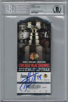 Jonathan Toews Signed Chicago Blackhawks Stanley Cup Ticket Game 5 BAS 25296