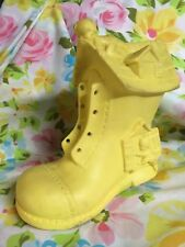 Vtg 1960 Alan Jay Clarolyte Rubber Baby Squeaky Toy Nursery Rhyme Old Woman Shoe
