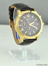Relojes de pulsera Quartz de cuero para hombre