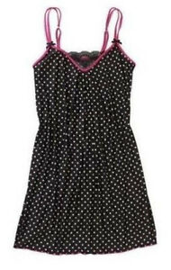 50% OFF! AUTH GEORGE POLKA DOT PRINT CHEMISE SMALL / 4-6 BNEW SRP US$ 9.84