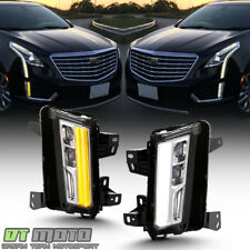 [SwitchBack] 2017-2018 Cadillac XT5 LED DRL w/Turn Signal Fog Lights Lamps