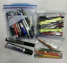 Large Lot Pens Markers Highlighter Pencils Writing Instruments FoundArtShopCom