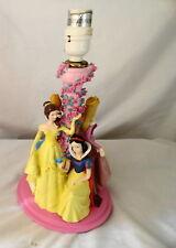 DISNEY PRINCESS LAMP SNOW WHITE CINDERELLA AURORA BELLE  PINK ROSE GARLAND
