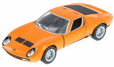 Kinsmart 1971 Lamborghini Miura P400 SV Diecast Display Car 1:34 KT5390D Orange