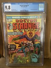 DOCTOR STRANGE 8 CGC 9.8 WHITE PAGES DORMAMMU MARVEL COMICS 1974 ONLY ONE HIGHER