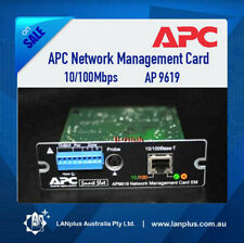 APC UPS 10/100Mbps Network Management Card SNMP AP9619 > 9617 10-mth warranty