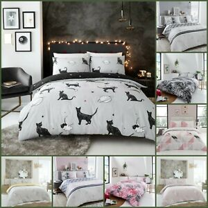 4 Pieces Complete Bedding Set Duvet Cover With + 2 Pillowcase + 1 Fitted Sheet