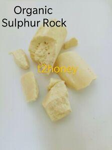 Pure Organic Sulphur Rock Powder Mineral Highest Grade Imi Ojo Azufre 10g-200g